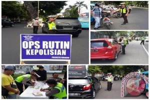 Satlantas Polresta Manado lakukan operasi rutin