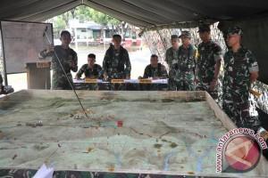 Yonif 712 lakukan latihan tingkatkan kemampuan prajurit