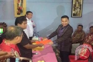 Kolonel Makaminan Mendaftar Cabub Gerindra-pkpi - (d)