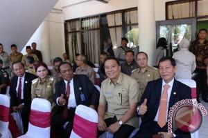 Wali Kota Tomohon Dukung Peningkatan Status Polda Sulut