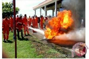 AP Bandara Samrat Ingatkan Masyarakat Waspada Kebakaran