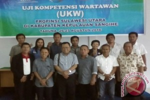 Ketua Pwi Sulut : wartawan harus lulus UKW