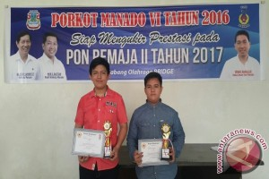 Stayman/Jose juara Bridge U21 Porkot Manado