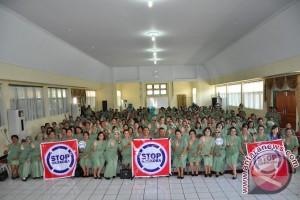 Persit Korem 131-BNNP sosialisasi pencegahan Narkoba