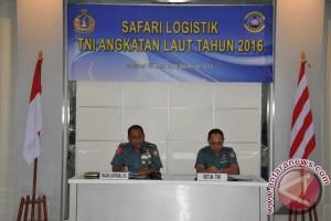 Mabes TNI-AL safari logistik di Lantamal Manado