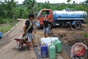 Satgas TMMD bantu air bersih kepada masyarakat