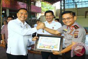 Kabupaten-Kota Ikuti Kejuaraan Voli Piala Kapolda