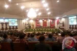 DPRD Sulut tetapkan APBD perubahan 2016