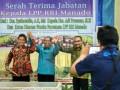 Serah terima Kepala LPP RRI Manado