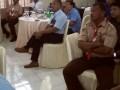 Peserta rapat penyerahan DIPA 2017 di KPPN Tahuna Rabu 21/12