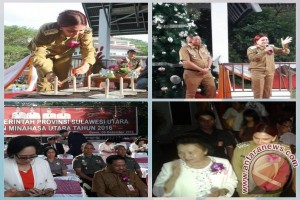 Pra Natal Pemkab Minahasa Utara Berlangsung Khusuk