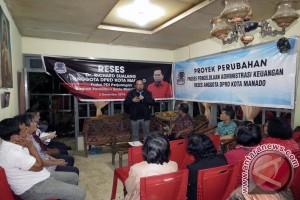 Wakil Ketua DPRD Manado Serap Aspirasi Titsel