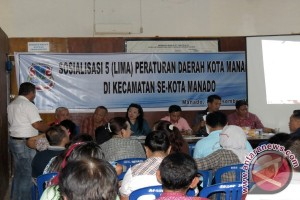 DPRD  Manado Sosialisasi Perda Bagi Kecamatan