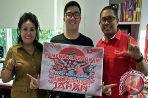 Reagen Jocom Pemenang Program Loop Fun Holiday Telkomsel ke Jepang