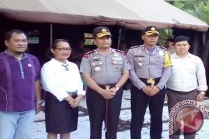 Kapolda Sulut kunjungi Panwas dan KPU Sangihe
