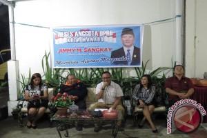 GPI Minta Jadi Kelurahan di Reses Sangkay