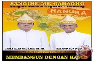 Gaghana-Hontong menang Pilkada di Sangihe