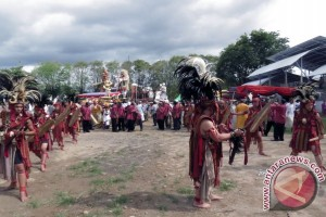 Kabasaran-hadrah-barongsai Warnai Festival Ogoh Ogoh Manado