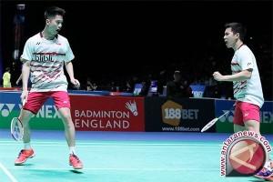 Malaysia Terbuka - Marcus/Kevin ke final,  Tontowi/Liliyana tumbang