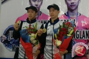 Marcus/Kevin Raih Hatrik Usai Juara Malaysia Terbuka