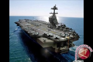 USS Gerald R Ford, kapal induk seharga 13 miliar dolar AS