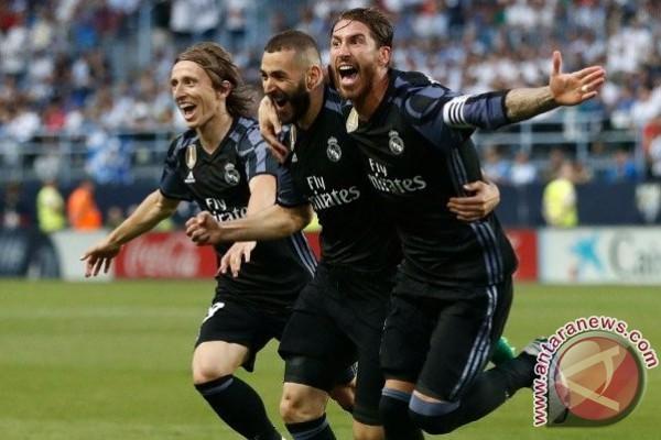 Real Madrid Juara La Liga ke-33