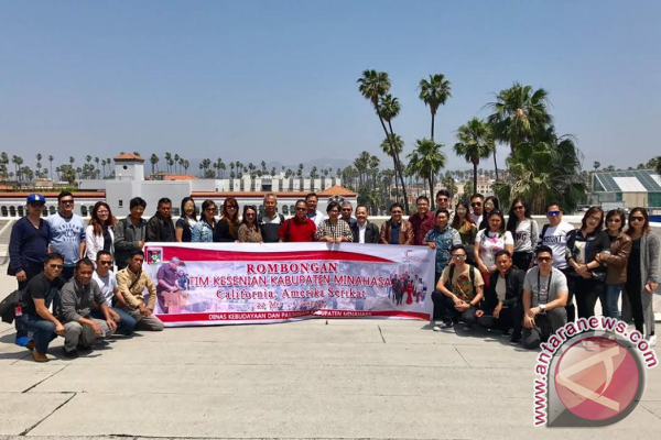 Tiba Kesenian Minahasa Dialog Bersama Konjen RI Los Angeles