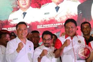 Wali Kota Tomohon Hadiri Peluncuran Bela Negara