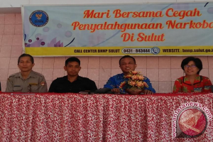 Siswa Manado Dilatih Jadi Relawan Anti Narkoba