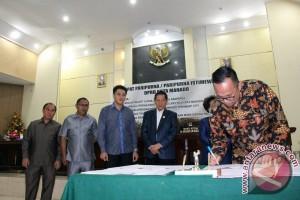 DPRD Manado Tetapkan Dua Raperda Baru