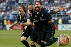 Real Madrid Juara La Liga ke-33