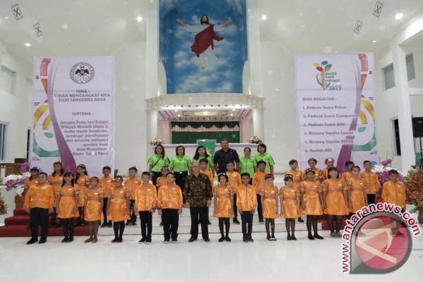 Pesta Seni GMIM Manado Utara II Sukses