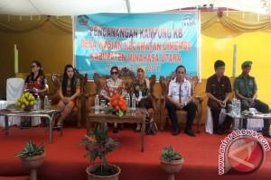 Pemkab Minahasa Utara Canangkan Kampung KB 2017