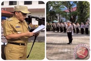 Bupati JWS Pimpin Apel Ramadniya