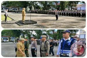520 Personil Gabungan Amankan Idul Fitri di Minahasa