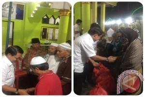 Safari Ramadhan, Pemkab Minahasa Bagi-bagi Sedekah dan Sembako
