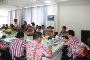 Lebaran 2017 - Pemkab Minahasa Tenggara Koordinasikan Pengamanan Lebaran