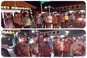 Berlangsung Meriah, Ratusan Peserta Padati Pawai Takbiran di Tondano