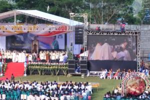 Prosesi Tahbisan Uskup Manado