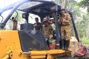 Pemkab Minahasa Tenggara dan TNI Mulai Cetak Sawah Baru