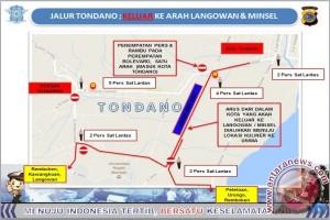 Jalur Tondano: Keluar ke Arah Langowan dan Minsel