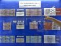 Seorang pengunjung menunjuk spesimen uang Rupiah edisi khusus (uncut) yang diluncurkan di Kantor Perwakilan Bank Indonesia (BI) Sulut, Manado, Sulawesi Utara, Kamis (17/8). Uang Rupiah khusus emisi 2016 merupakan sarana perkembangan numismatika (koleksi uang) yang diresmikan bertepatan pada HUT RI untuk mengenang jasa para pahlawan, dengan nominal yang berbeda dari nilai jualnya, serta terdiri dari beberapa lembar uang bersambung (tidak dipotong). ANTARA FOTO/Adwit B Pramono/foc/17.