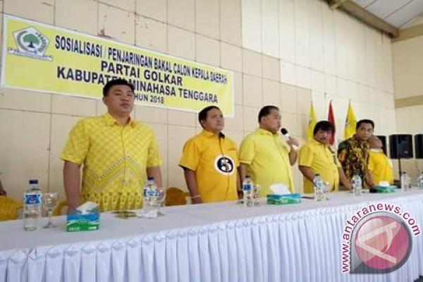 Golkar Jaring Empat Nama Bakal Cabup Minahasa Tenggara