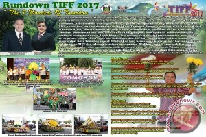 "ADVERTORIAL RUNDOWN ""TOMOHON INTERNATIONAL FLOWER FESTIVAL\"""