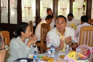 Menteri BUMN Kunjungi Kota Tomohon