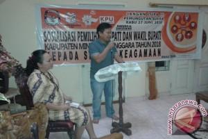 KPU Minahasa Tenggara Gandeng Tokoh Agama Sosialisasikan Pilkada