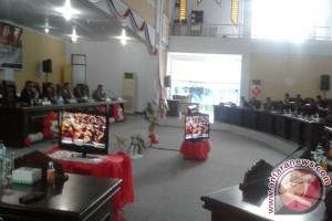 Paripurna DPRD Mendengar Pidato Presiden RI