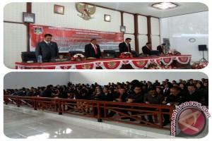 Jelang HUT Proklamasi RI, DPRD Minahasa Gelar Paripurna Istimewa