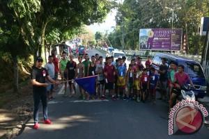 Airmadidi Bawah Meriahkan HUT RI Lomba Marathon