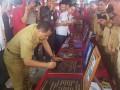 Bupati Minahasa Jantje W Sajow Resmikan Proyek Alokasi Dana Desa (ADD) dan Dana Desa (DD) dirangkaikan dengan ibadah syukur HUT ke-5 Kecamatan Mandolang.